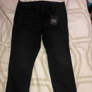 NWT - Lace trim jeans